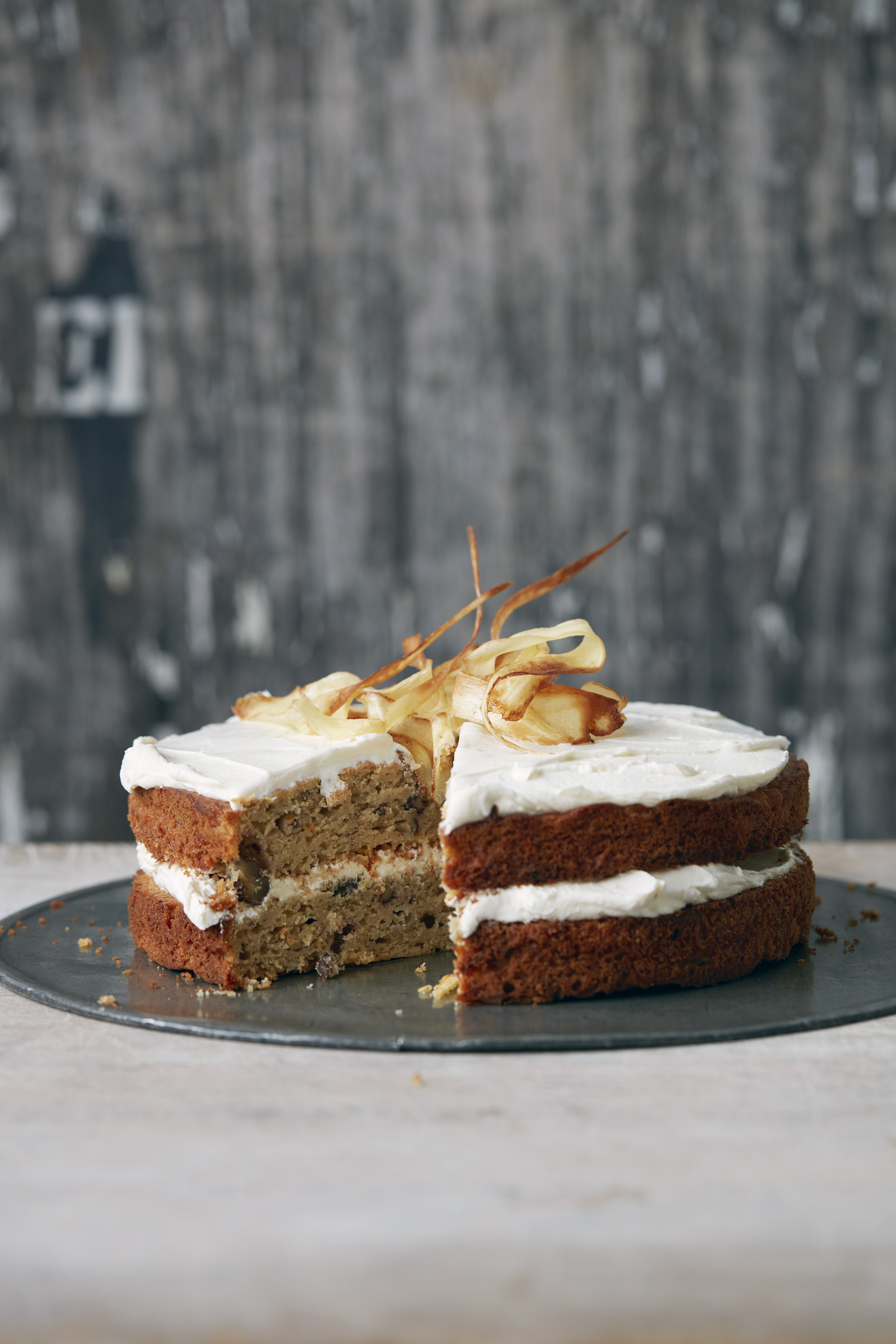 Parsnip Cake Recipe With Maple Syrup Olive Magazine