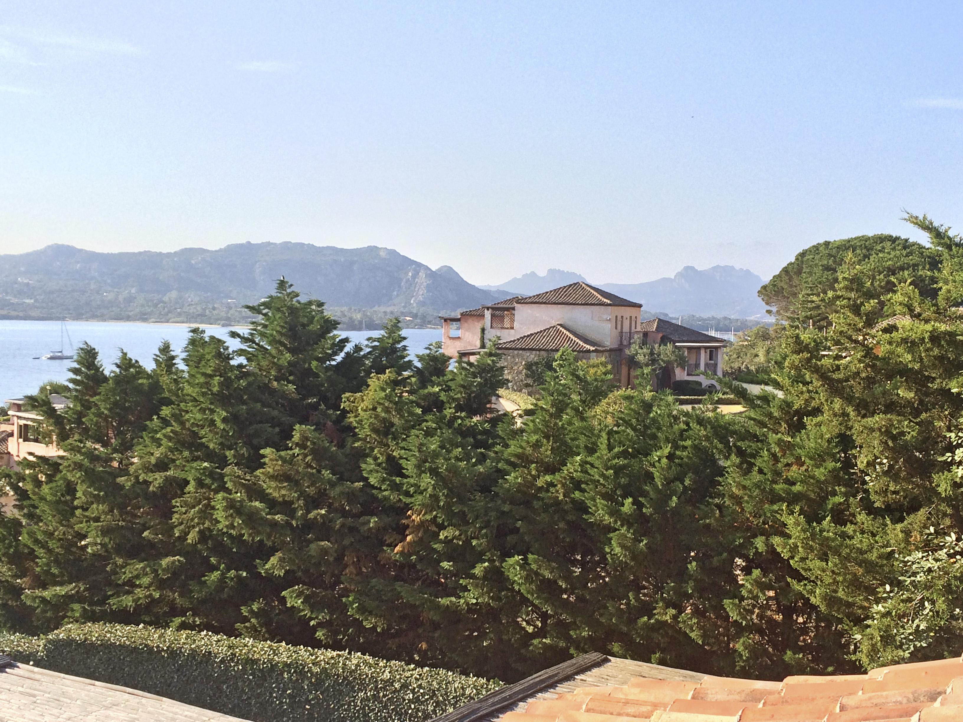 A view from the Villa Del Golfo