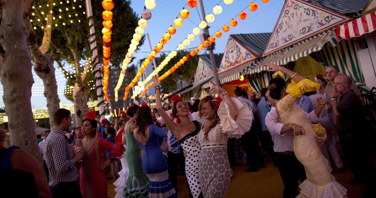 Flamenco dancing at Feria de Londres