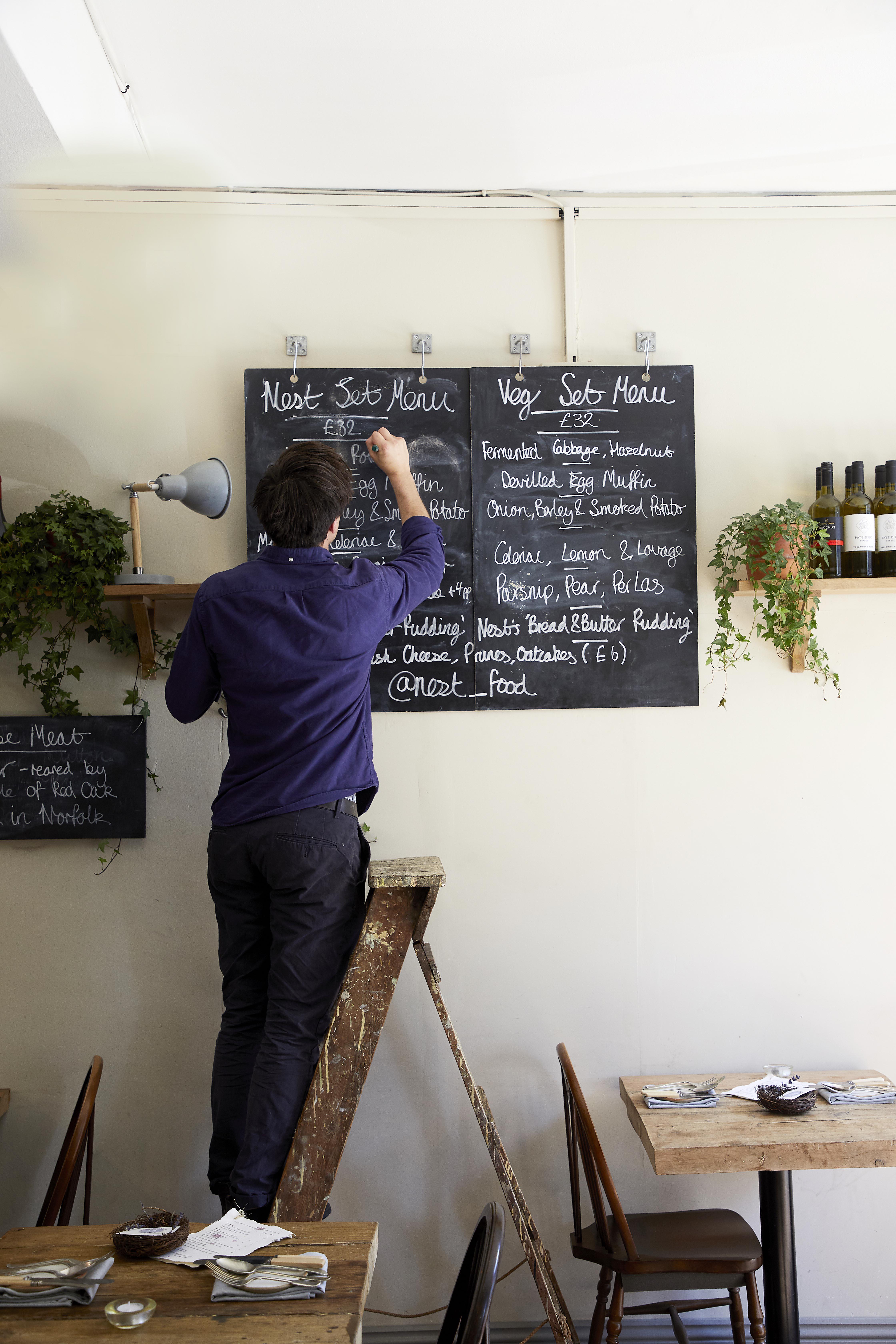 Nest, Hackney E9 Restaurant Review and Recipes
