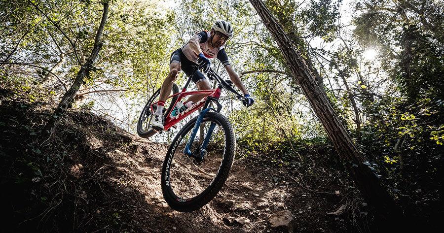 Procaliber 9.8 on a dirt trail