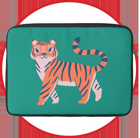 Little Tiger Macbook Sleeve