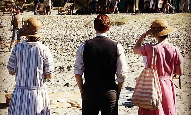 Downton Abbey likes to be beside the seaside