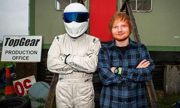 when is ed sheeran on top gear radio times. Black Bedroom Furniture Sets. Home Design Ideas