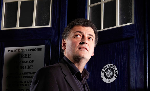 Doctor Who writer Steven Moffat (BBC, BD)