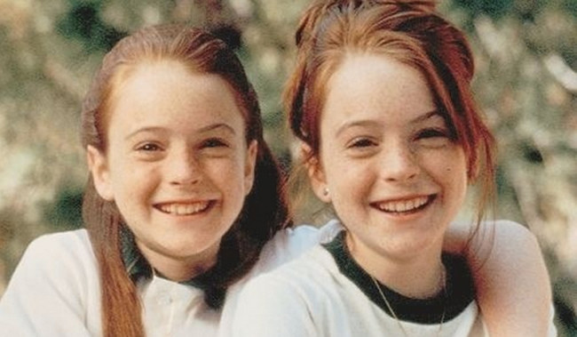 lindsay lohan has recreated a scene from the parent trap on dubsmash radio times. Black Bedroom Furniture Sets. Home Design Ideas