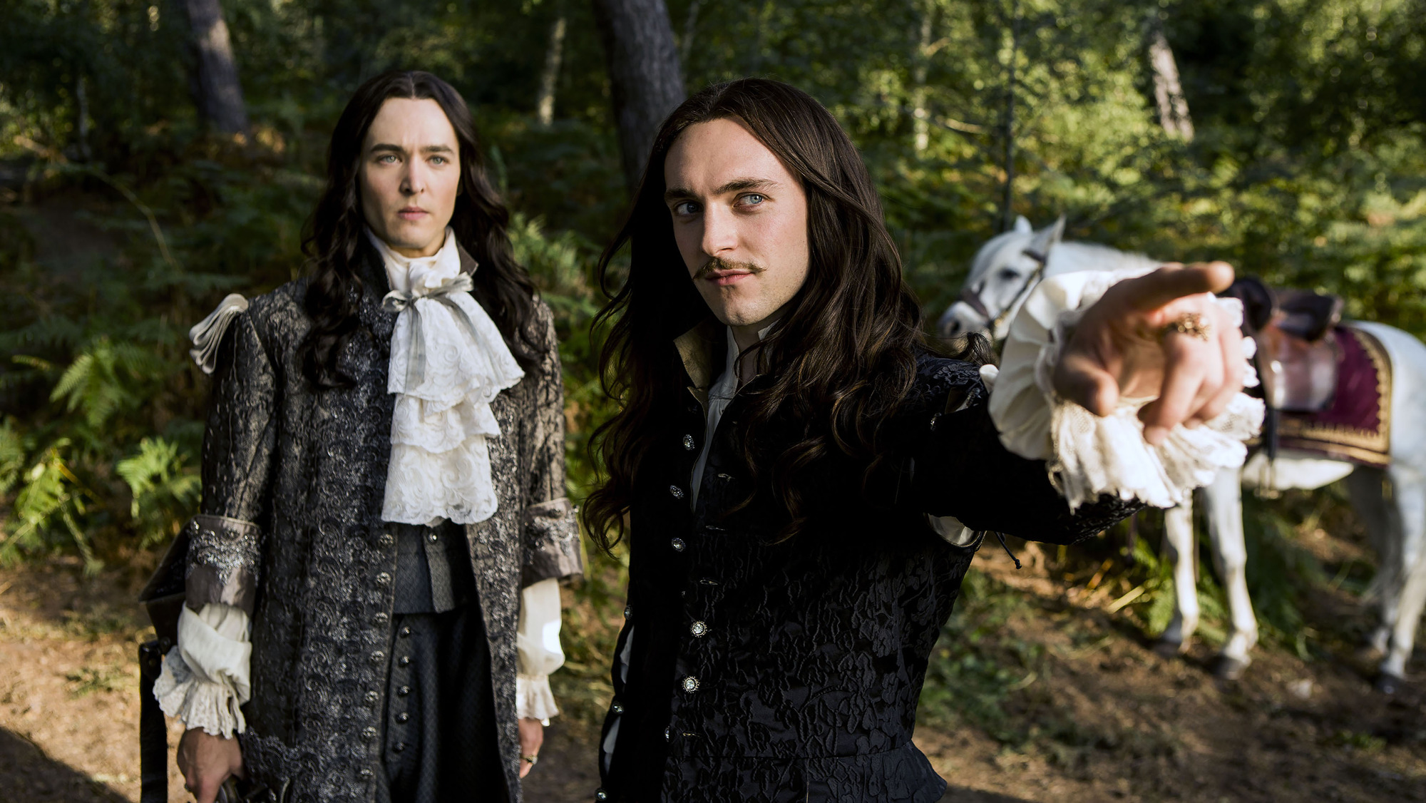 Forget Versailles' filthy sex scenes, viewers were more interested in those hairstyles
