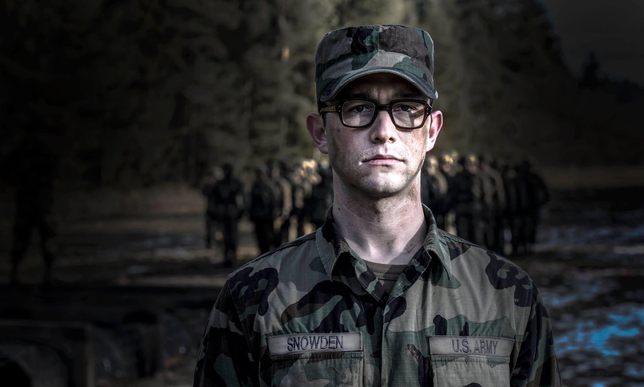 Edward Snowden emerges as a film star