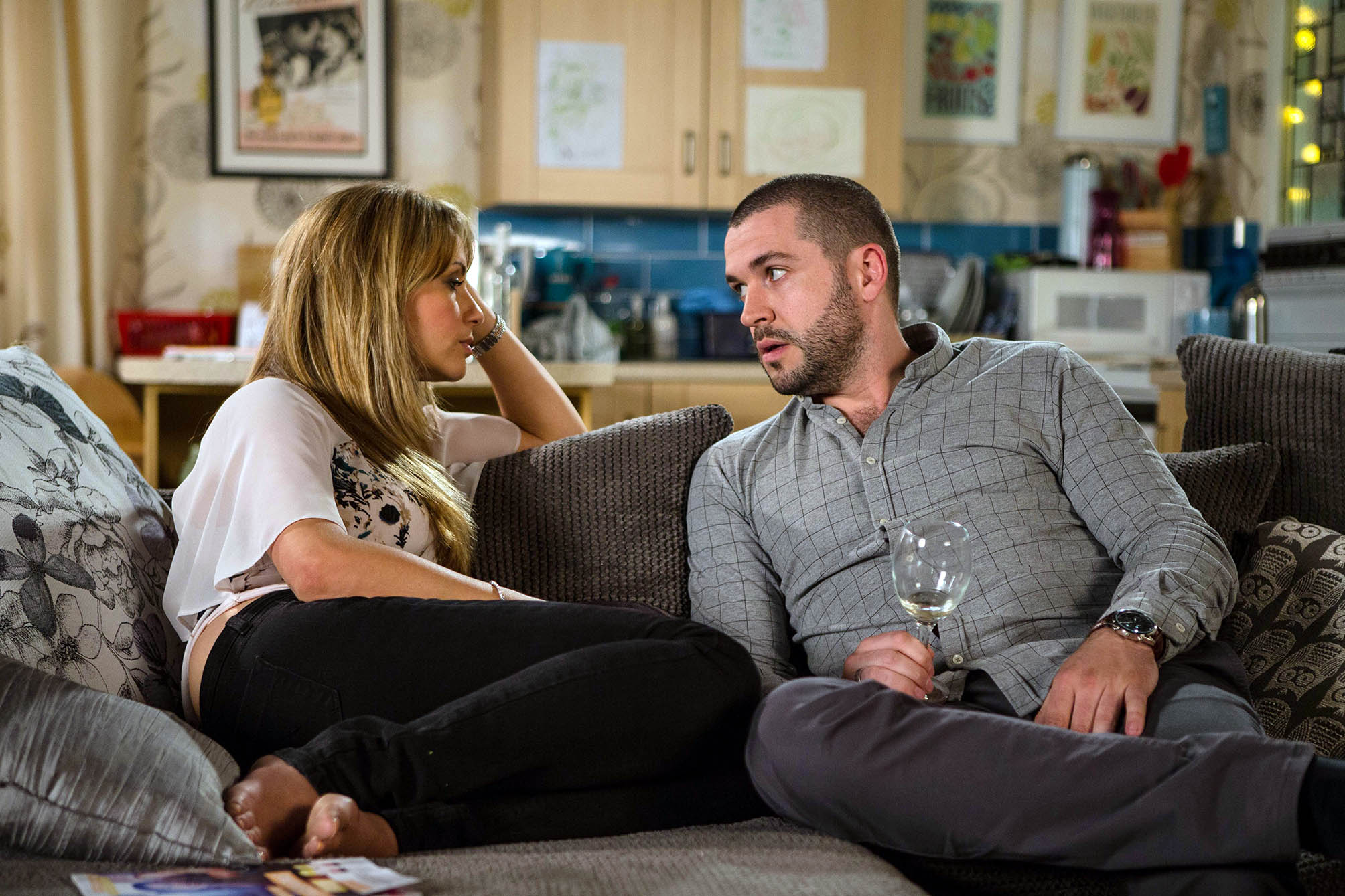Coronation Street: Maria becomes obsessed with Aidan following their fling, reveals Shayne Ward