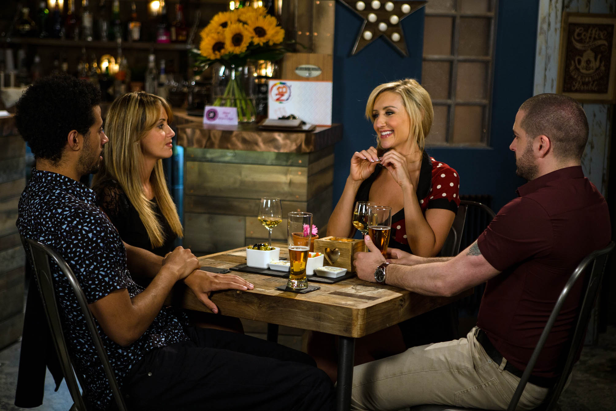 """Coronation Street: Catherine Tyldesley wants an Eva and Maria cat fight – """"There'd be weaves going everywhere!"""""""