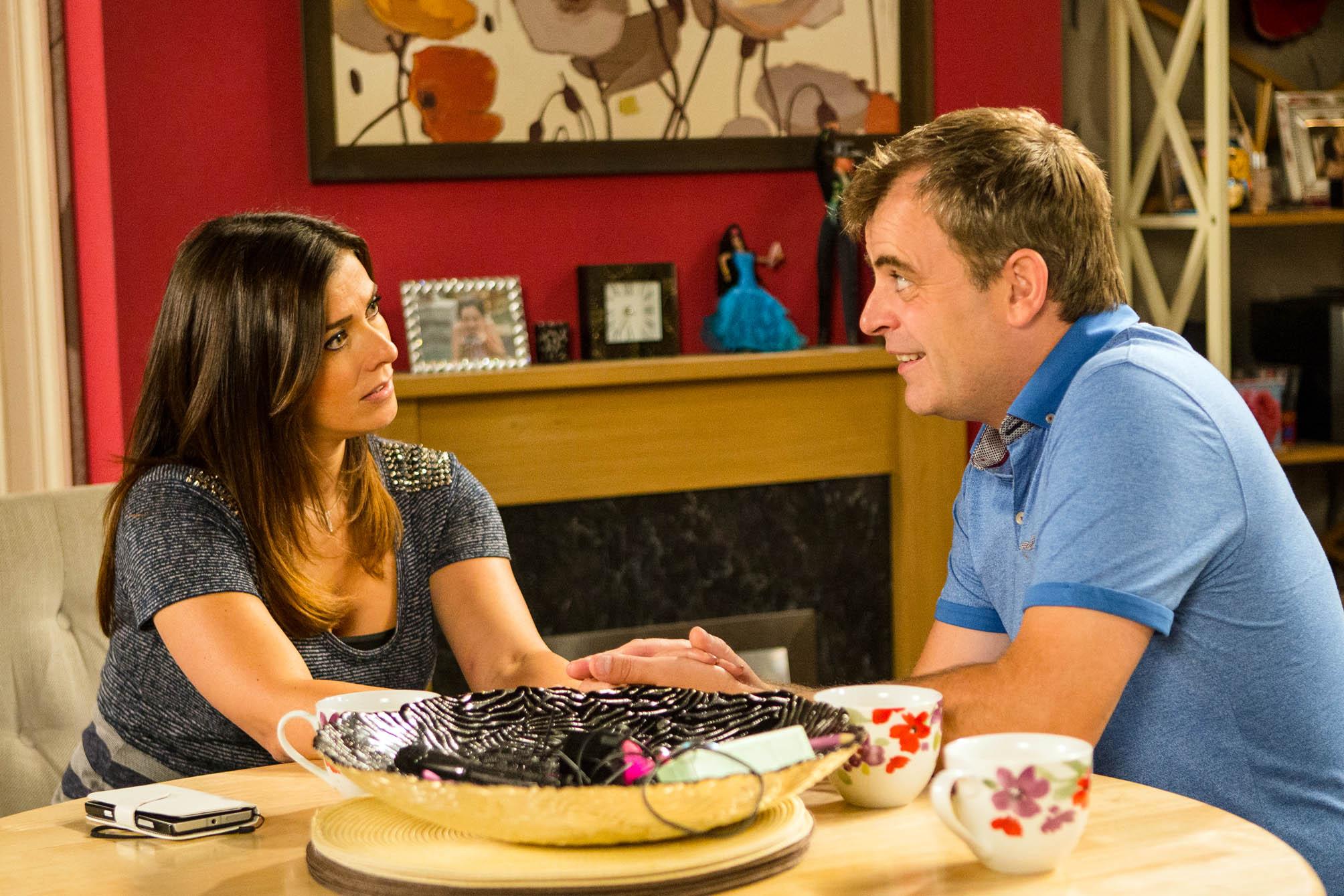 Coronation Street: Michelle's baby bombshell- she tells Steve she's pregnant!