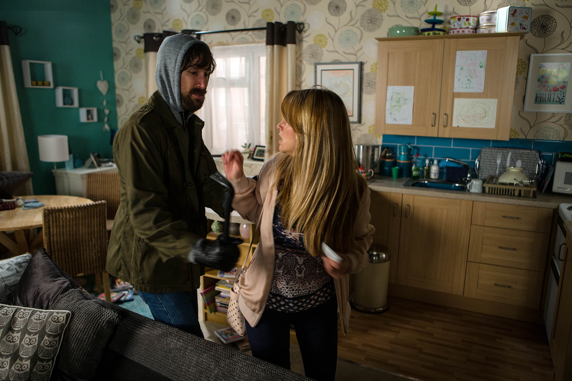 Coronation Street: Maria comes face to face with a burglar – see the first-look pics!