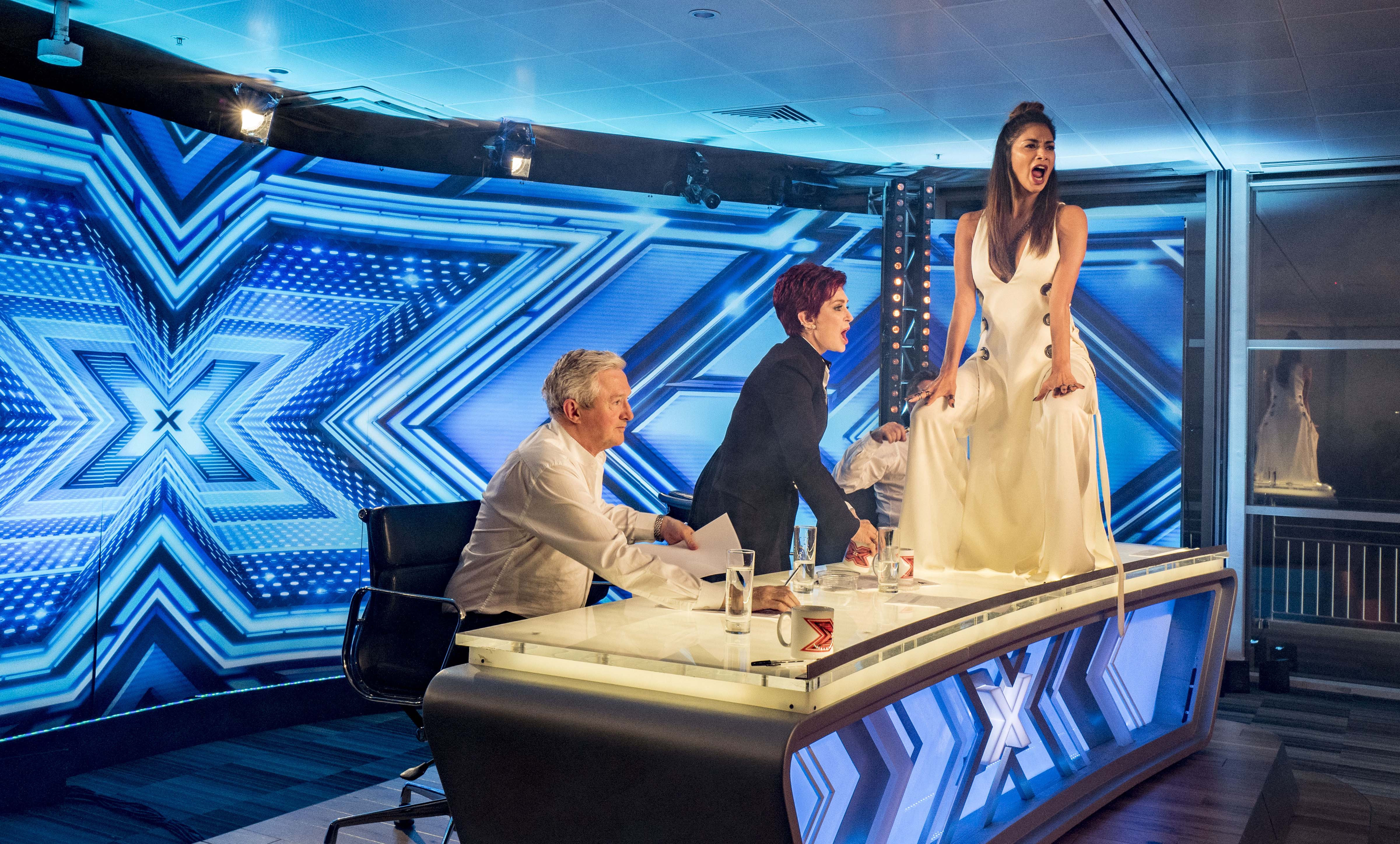 What times xfactor on