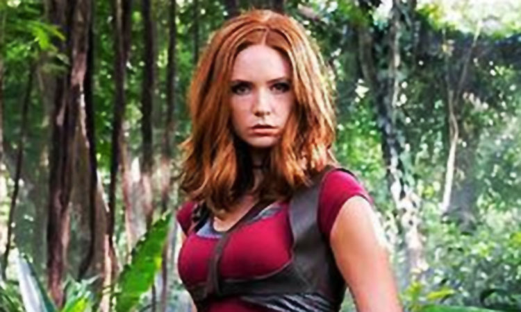 Jumanji: has Karen Gillan changed her jungle outfit ...