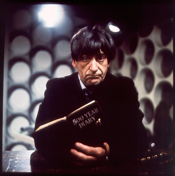 One of Don Smith's colour shots of Troughton.