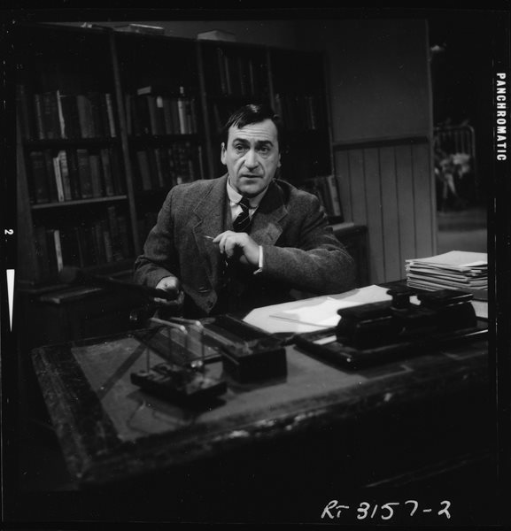 Troughton as Mr Miller in Dr Finlay's Casebook in 1965.