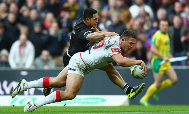 Where can I watch England v New Zealand Rugby League Four ...