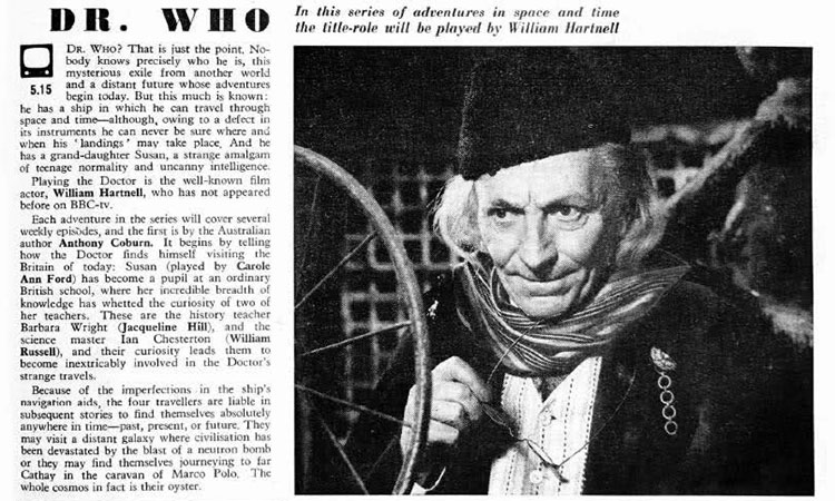 Dr who first episode