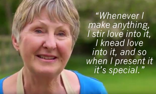Watch Val Stones' Tear-jerking Great British Bake Off