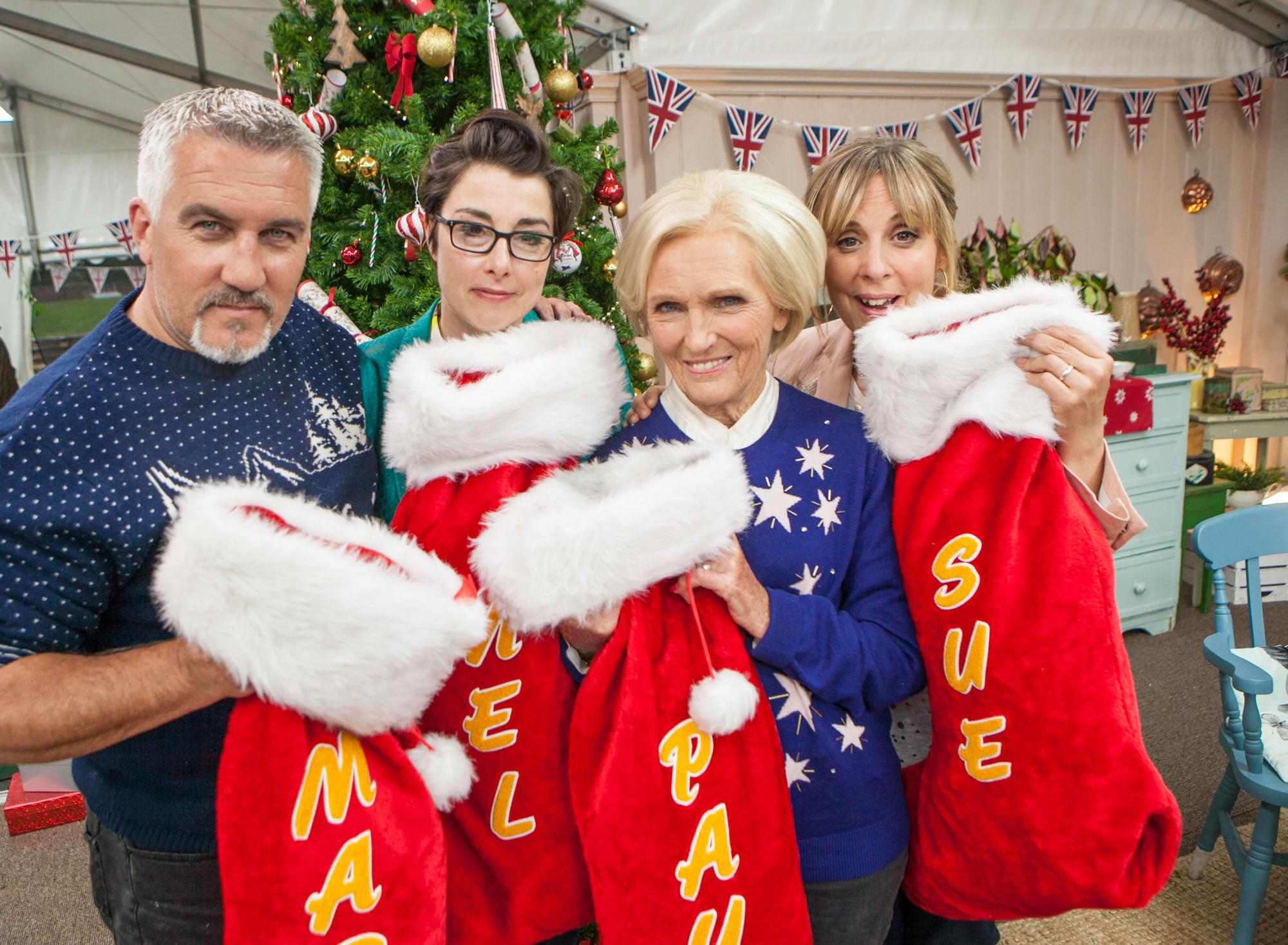 new great british bake off christmas special photos. Black Bedroom Furniture Sets. Home Design Ideas