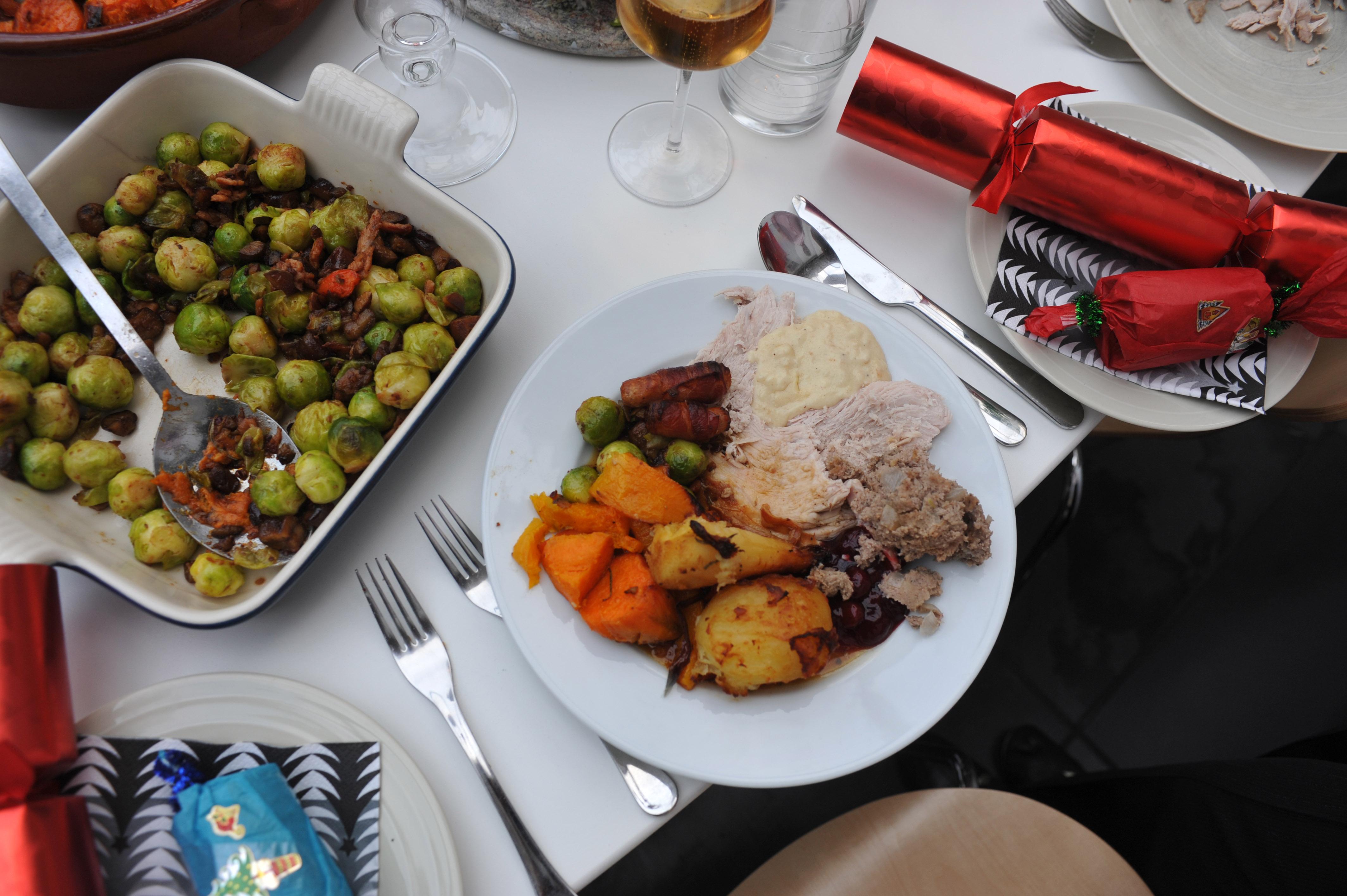 Christmas dinner, Getty, TG
