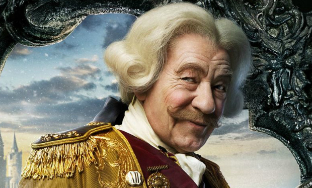 Ian McKellen Is Delightful As A Human Cogsworth In Beauty And The Beast
