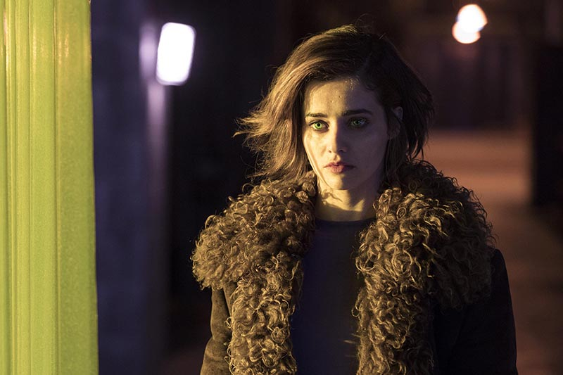 Holly Earl as Agnes in Humans series 3 (Channel 4, HF)