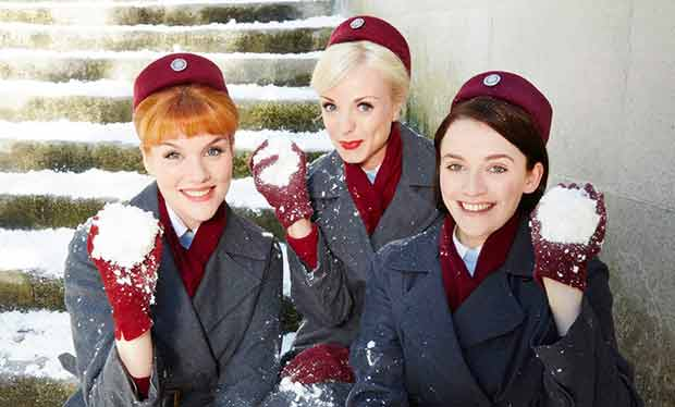 Call The Midwife: Cast reunite for series 7 Christmas special ...