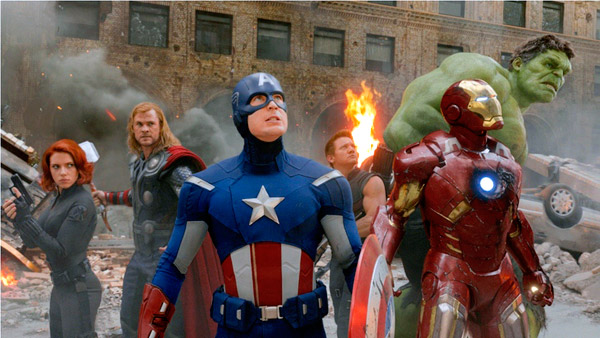 The original 2012 Avengers (Marvel, HF)