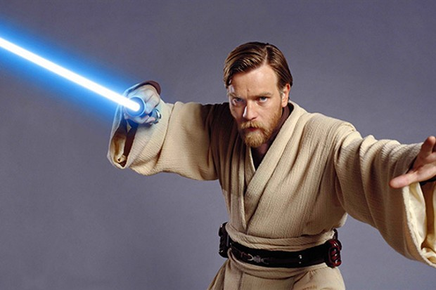 Ewan McGregor as Obi-Wan in Star Wars