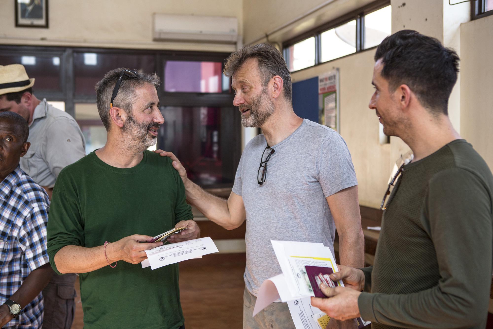 Red Nose Day Convoy 2017 Hugh Dennis Reveals What