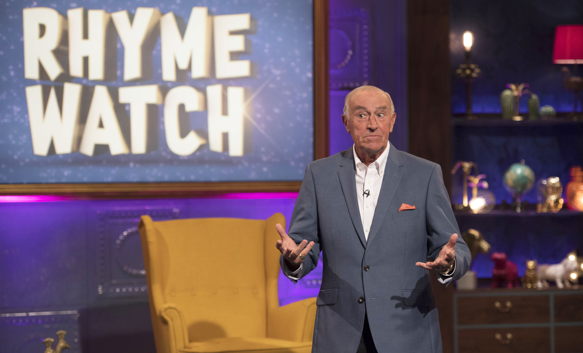 Len Goodman in Partners In Rhyme