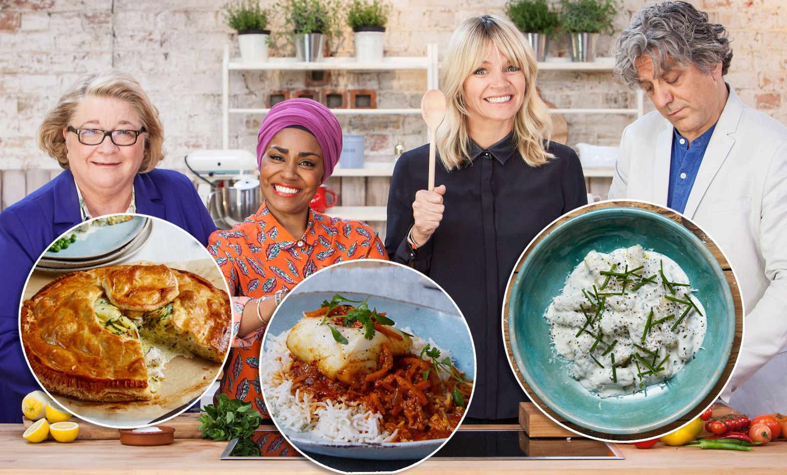 The Big Family Cooking Showdown Hosts And Judges Share Their Favourite Home Recipes