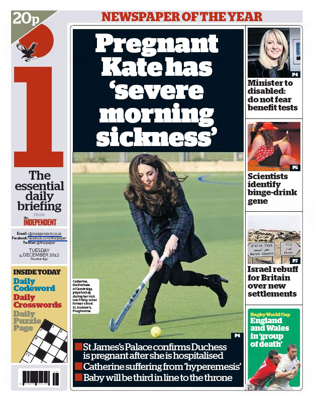 The Newspaper Front Pages