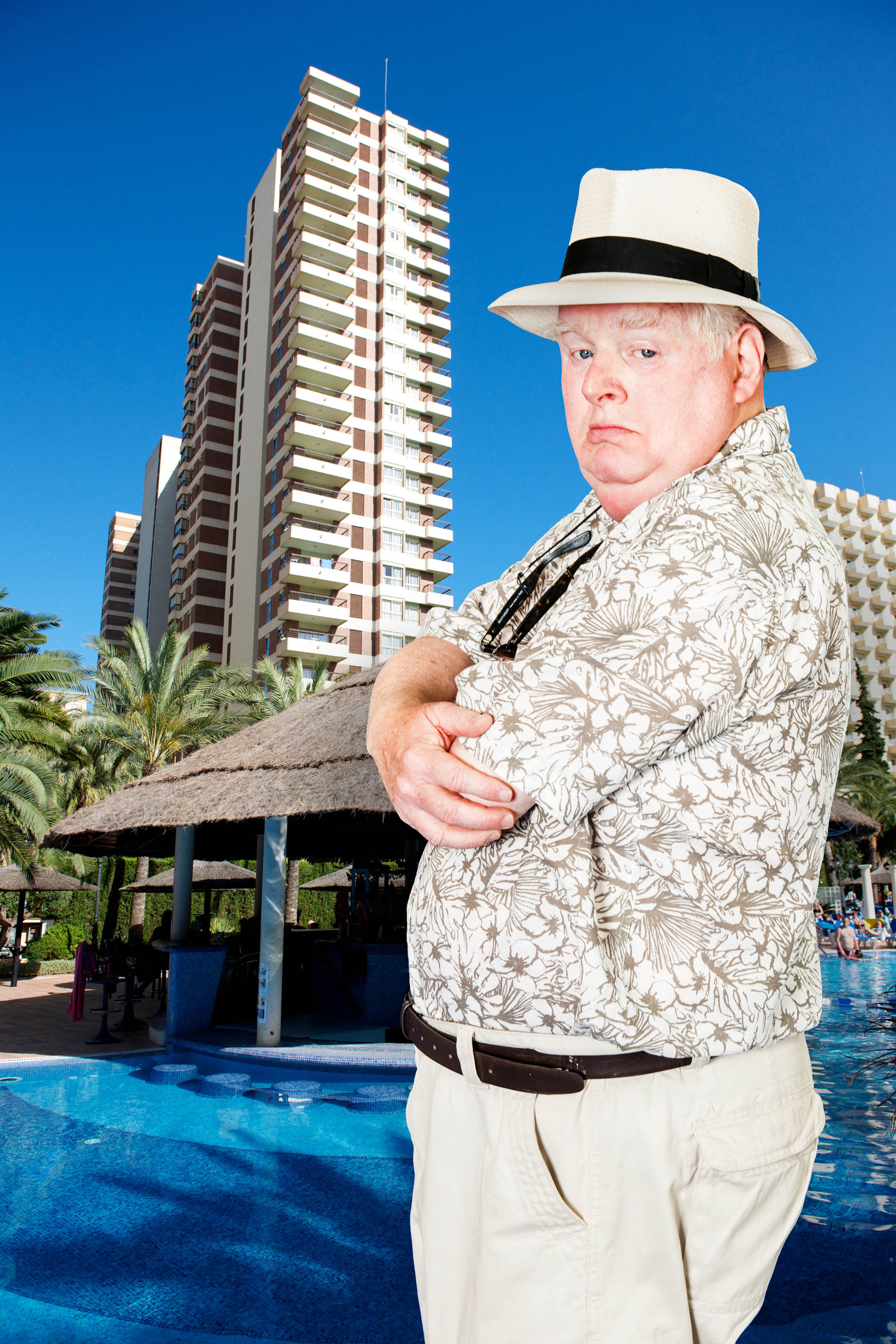 Benidorm Diary Donald And Jacqueline Are Itv S Sauciest Swingers But What Makes Them Blush