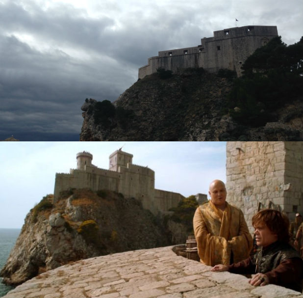 game of thrones guide to croatia 10 spots to visit from the hbo series radio times. Black Bedroom Furniture Sets. Home Design Ideas