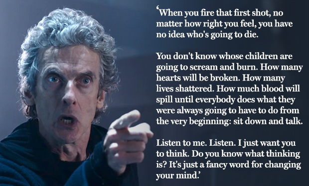 Doctor Who Speech: Is This Peter Capaldi's Greatest Moment