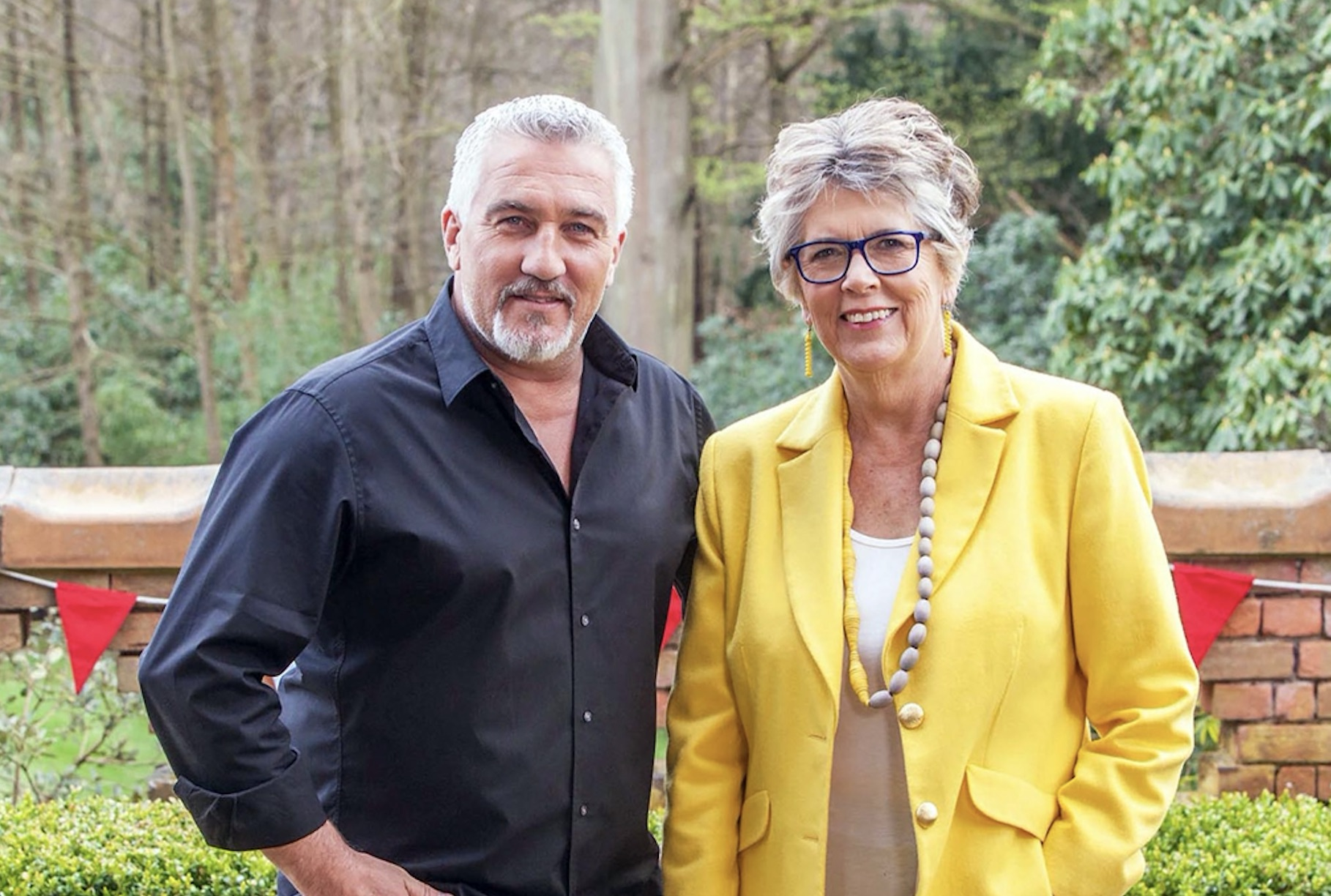 Bake Off Prue and Paul
