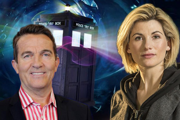 Bradley Walsh Jodie Whittaker Doctor Who