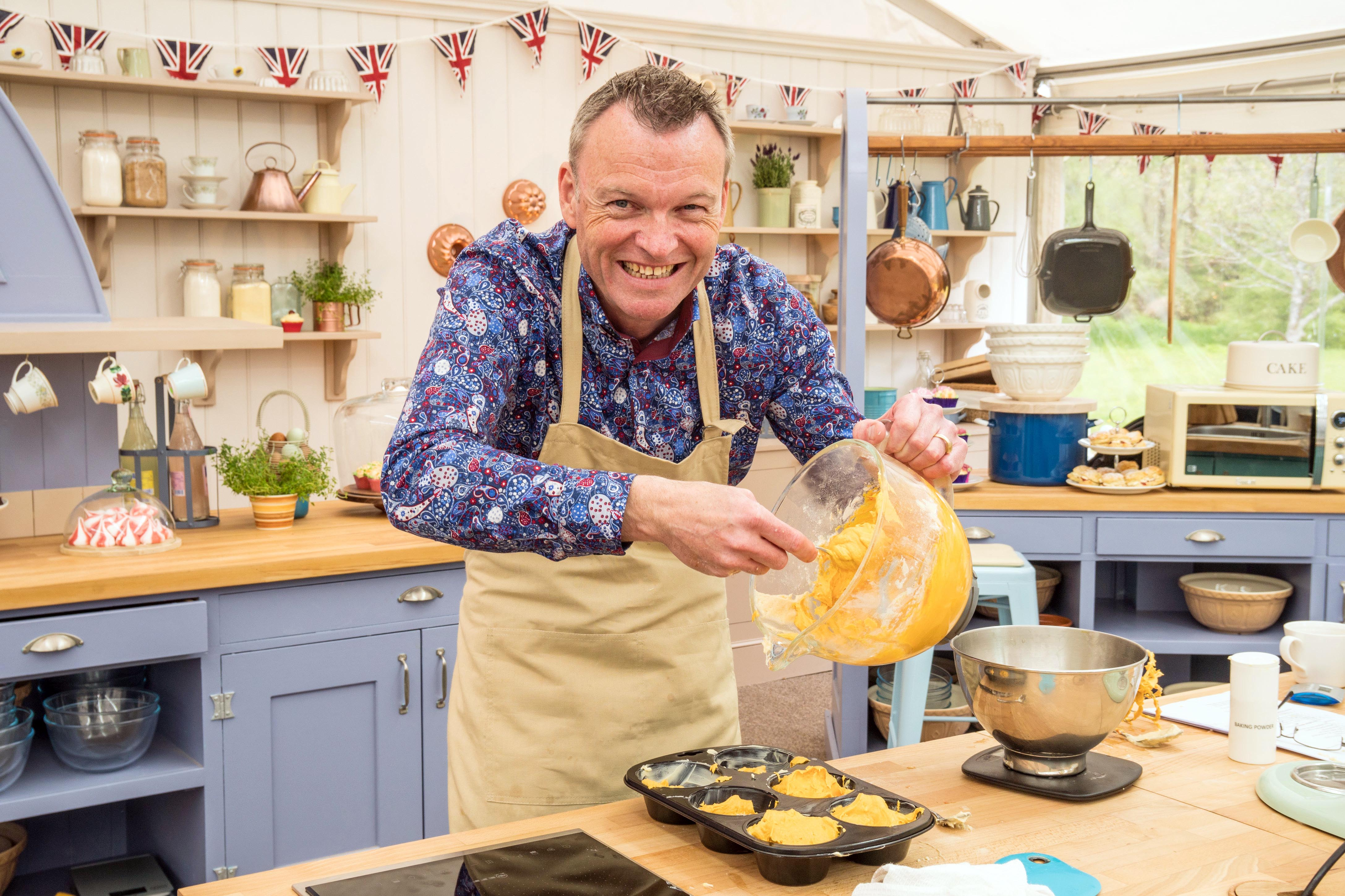 Great British Bake Off contestant Chris