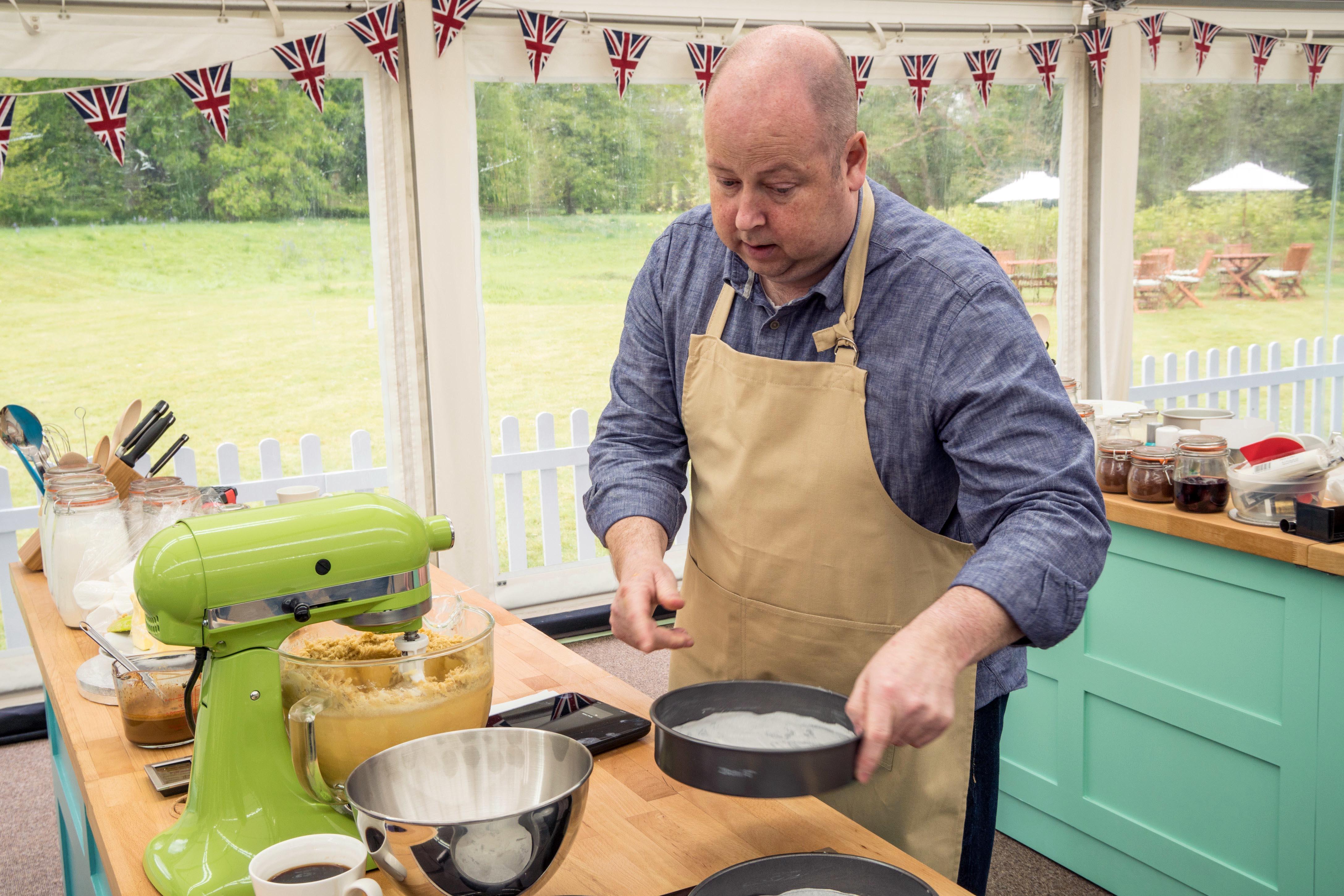 Great British Bake Off contestant James