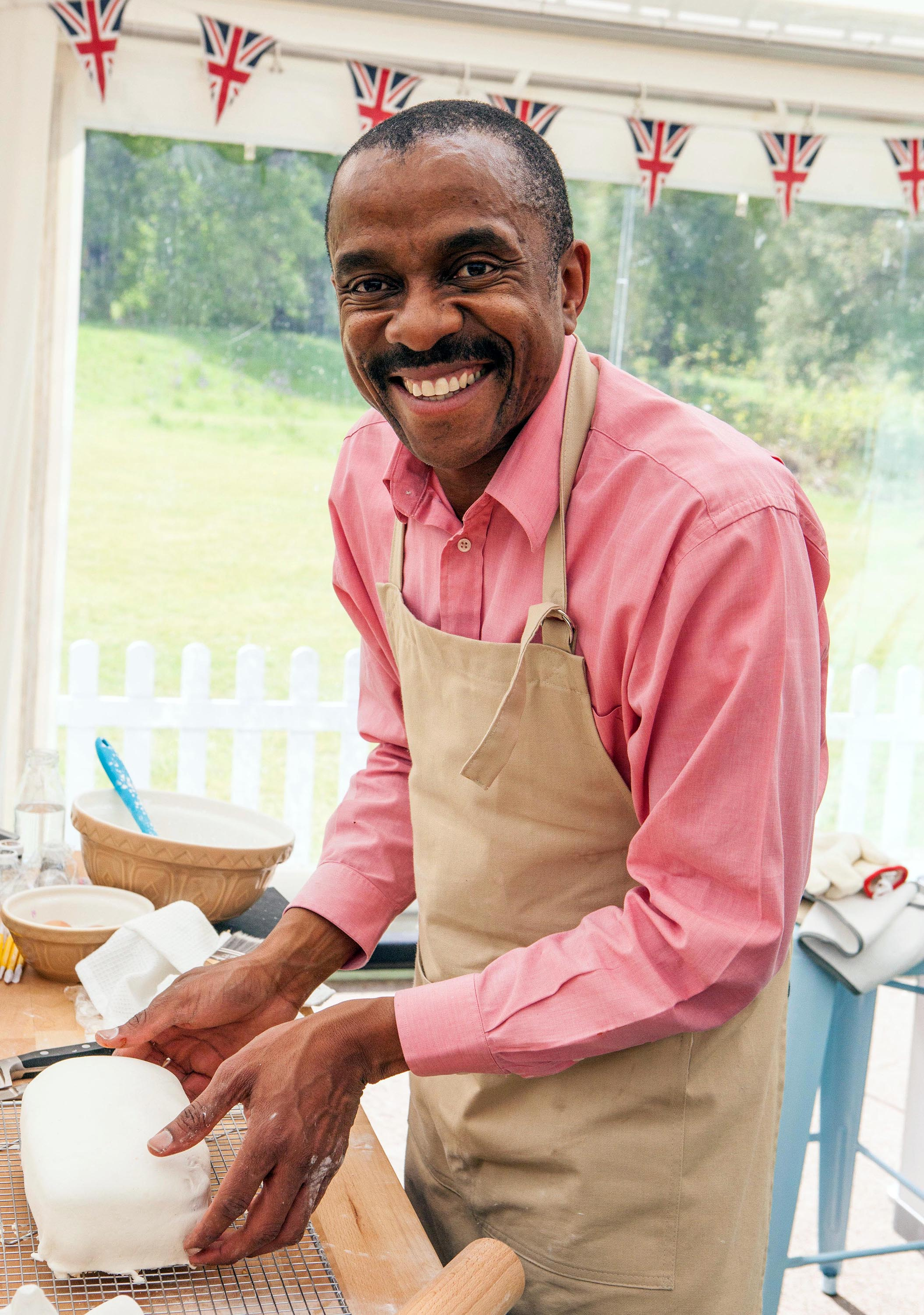 Great British Bake Off contestant Peter