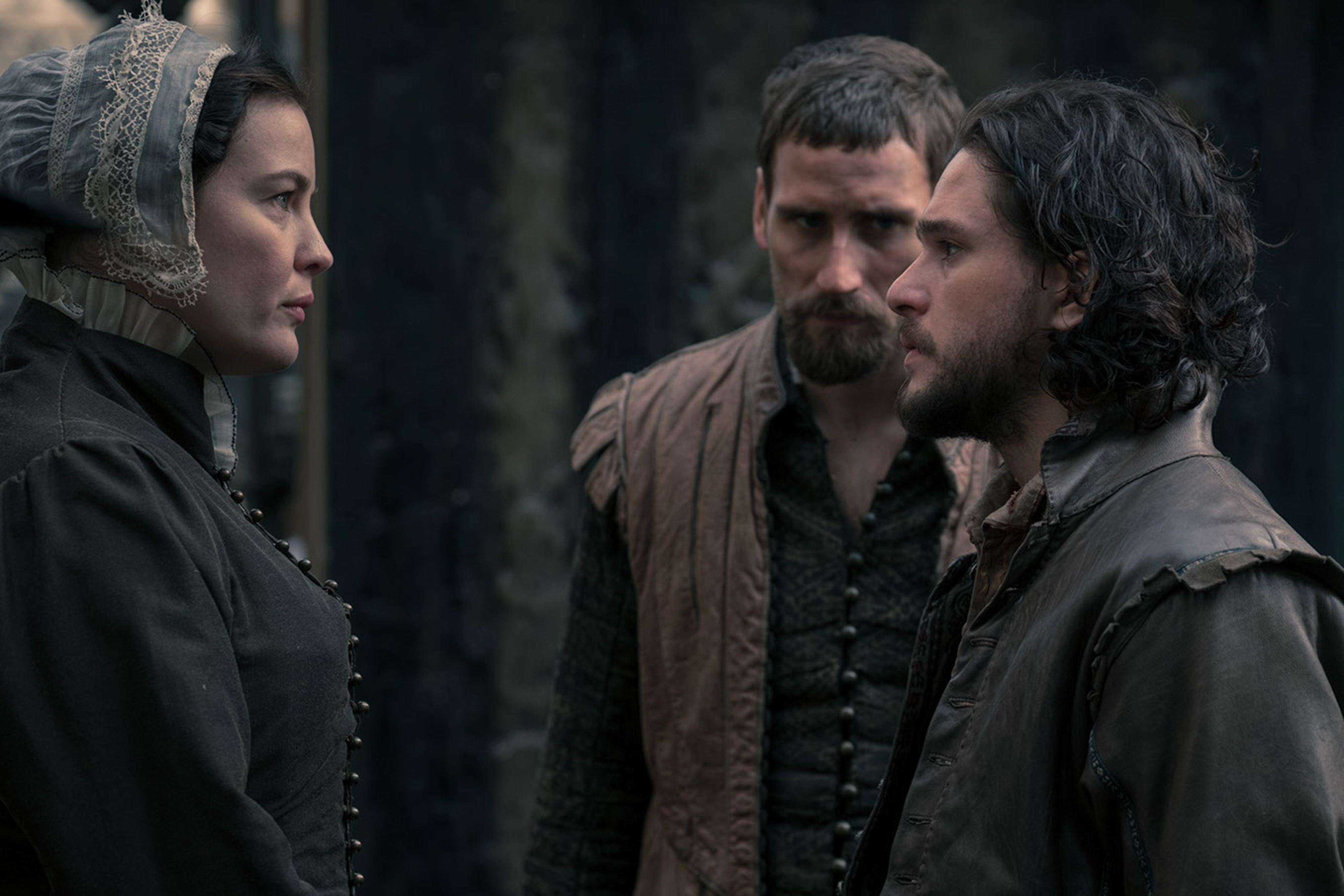 Gunpowder Kit harington and liv Tyler