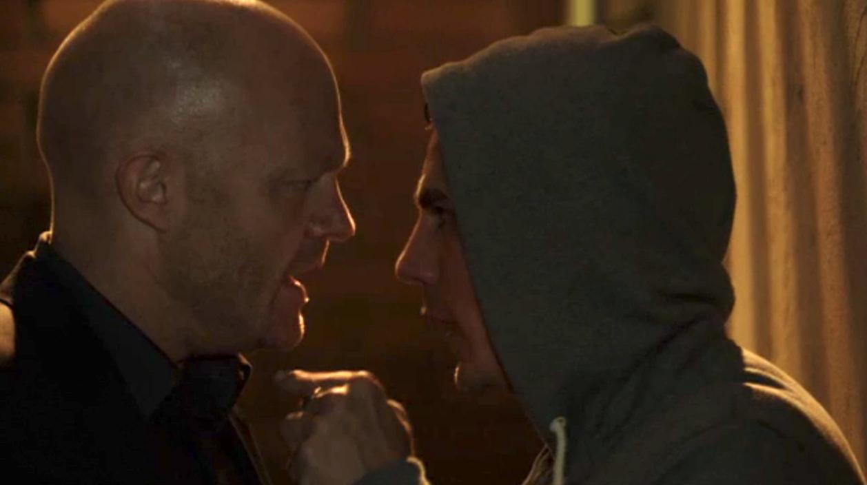 EastEnders Max Steven confrontation