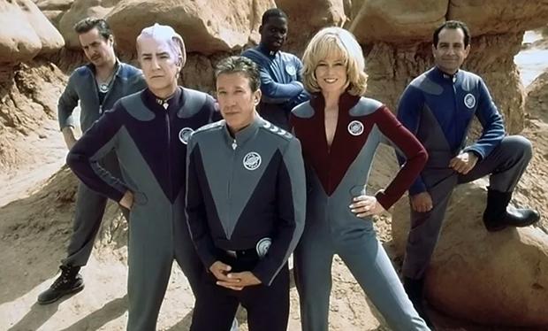 Galaxy Quest, Tim Allen, Sigourney Weaver, Alan Rickman
