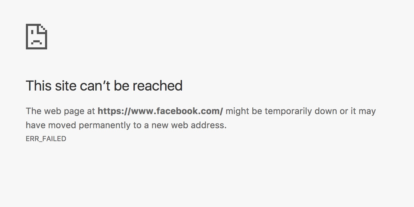 Is Facebook down? Chrome users report issues worldwide