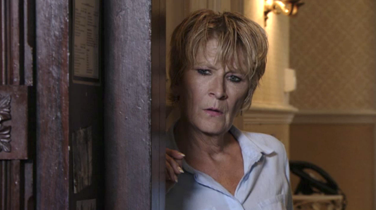 EastEnders Shirley suspicious