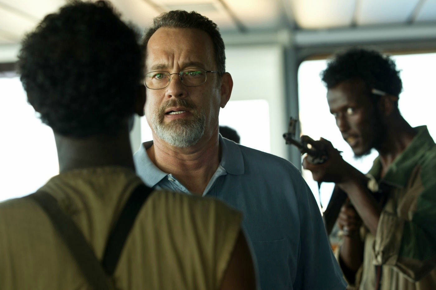 Captain Phillips and the pirates