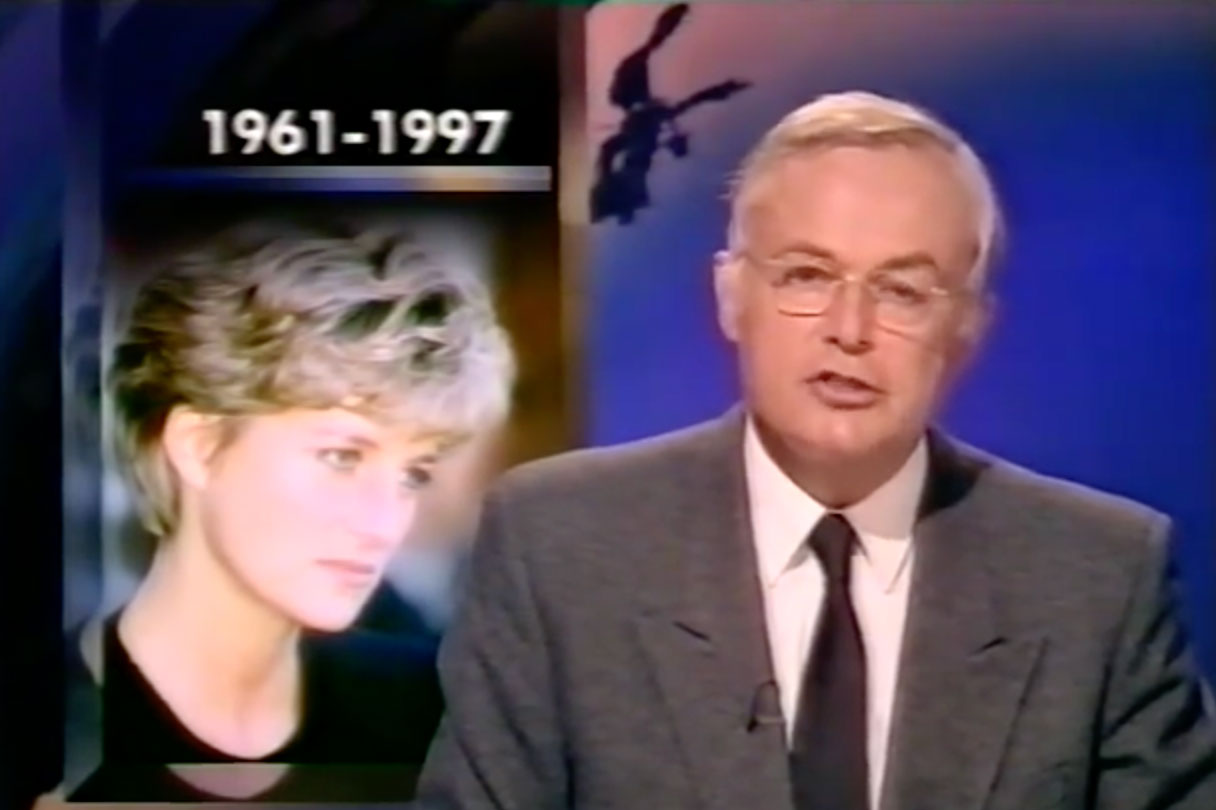 Newsreader Martyn Lewis recalls the day he broke the news of Princess Diana's death