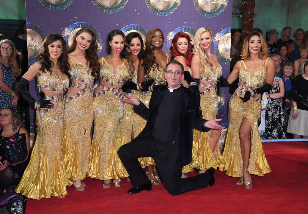 Richard Coles Strictly 2017